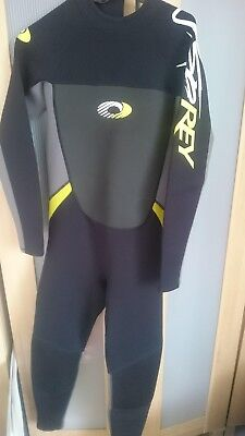 MENS circle one SHORTIE SHORTY WETSUIT bodyboard kayak medium chest 38 inch blue