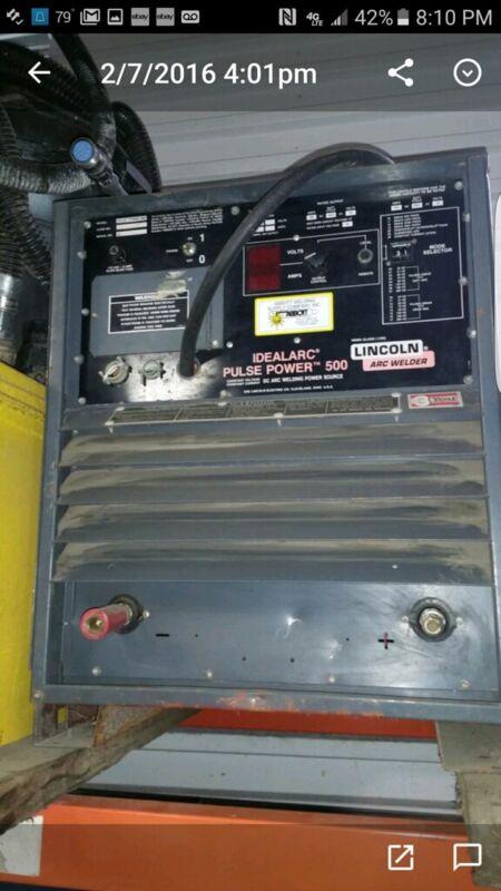 Lincoln Idealarc Pulse Power 500