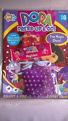 Dora the Explorer 'Dress Up and Go' Magazine and Clothes:  Magician!