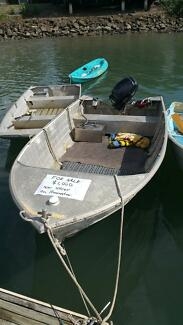 Need gone today! 14ft tinny 15hp 4stroke parsun outboard Edge Hill Cairns City Preview