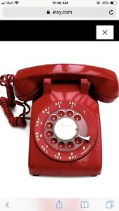 Looking for red rotary phone