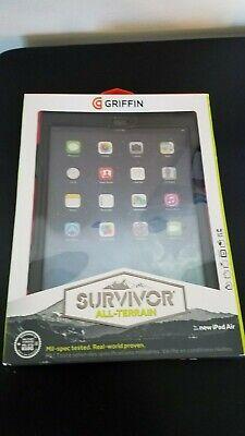 Griffin Survivor All-Terrain Case for iPad Air Black /