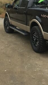 Four 295/60R20 Nitto on XD Series Rims Fits 2004-2018 Ford F-150