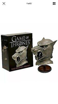 The Hound's Helmet Miniature Replica Game of Thrones Deluxe Mega Kit Miniature E