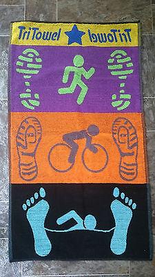 TriTowel - Triathlon Transition Towel, Unique!
