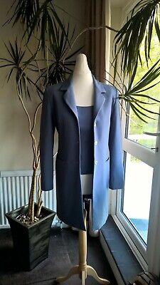 Jones New York - Ladies Fashion Suit and Blouse Grey/Blue Size 6