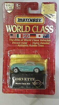 Matchbox  int LTD World Class 35 Chevrolet Corvette