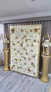 White flower wall Bossley Park Fairfield Area Preview