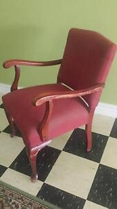 Small red chair Brocklehurst Dubbo Area Preview