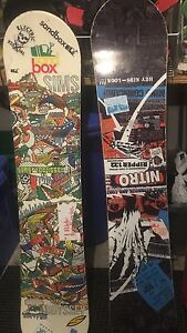 Snow Boards for sale.