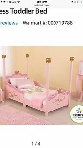 Kid kraft princess todler bed