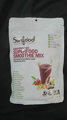 Super Smoothie Mix (Sunfood Super Foods Raw Organic Superfood Smoothie Mix 8 Oz 6 Servings)