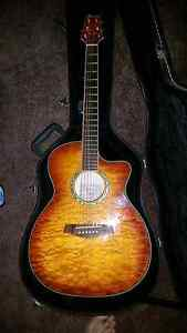 Ibanez Acoustic / Electric Guitar with extras Kallaroo Joondalup Area Preview