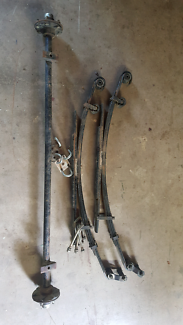 Hilux axle and springs