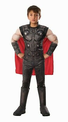 MARVEL AVENGERS END GAME THOR DELUXE BOYS COSTUME](Thor Costume For Boys)