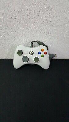 Xbox 360-Mando Original Con Cable Blanco segunda mano  Alicante