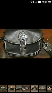 Longchamps small leather purse