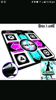 Wanted: Ddr game and mat (wanted) playstation