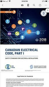 2018 Canadian Electrical Code