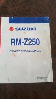 Rmz250 manual Bullsbrook Swan Area Preview
