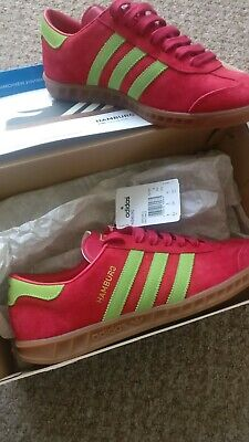 Adidas Hamburg Trainers Size 8 Rare Deadstock Not Dublin Malmo Trimm bnibwt