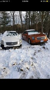 Two 2003 Cadillac cts