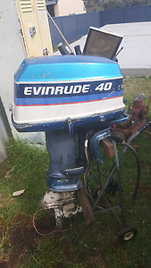 40hp evinrude outboard Denman Muswellbrook Area Preview