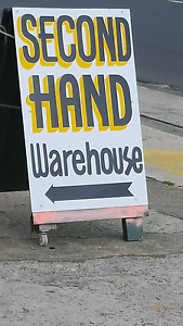 SECONDHAND WAREHOUSE OPEN 7 DAYS Glenorchy Glenorchy Area Preview