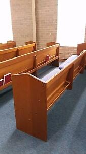 Church pews Gosnells Gosnells Area Preview