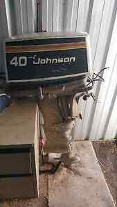 40hp Johnson seahorse outboard Denman Muswellbrook Area Preview