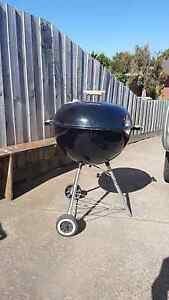 black Weber kettle bbq for sale Point Cook Wyndham Area Preview