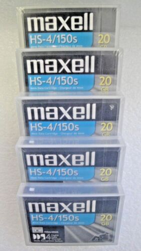 Maxell DDS-4 Data Tape Cartridge 20GB/40GB P/N:200028 NEW factory sealed