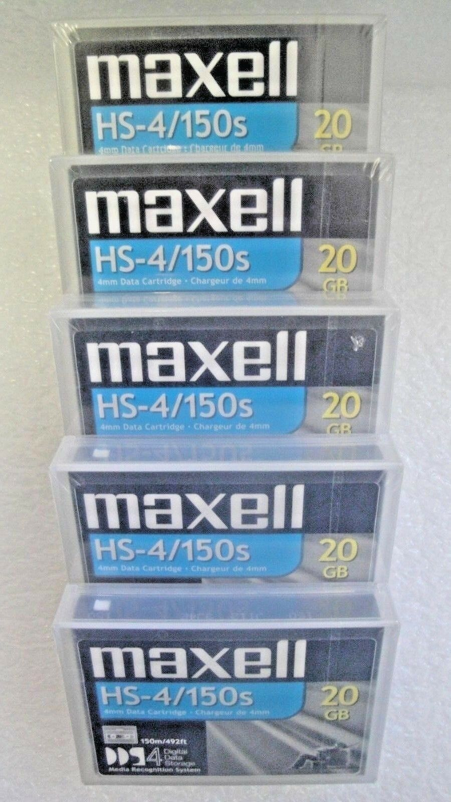 Maxell DDS-4 Data Tape Cartridge 20GB/40GB P/N:200028 NEW fa
