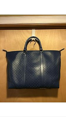 Gucci Royal Blue Leather Diamante Tote Bag *new with tag!