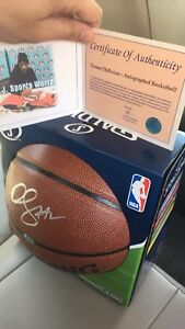 Signed DeMar DeRozan ball with COA