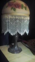 Metal and glass table Lamp working Clayton South Kingston Area Preview