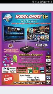 Worldmax TV Quad Core IPTV HD Android Box Merrylands Parramatta Area Preview