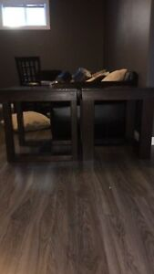 SOLID WOOD End Tables and Coffee Table