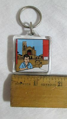 LOYAL ORDER of MOOSEHeart Illinois Double sided Key chain - LAST ONE!