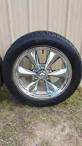 """4 x 20"""" American Racing Rims and Tyres Martins Creek Dungog Area Preview"""