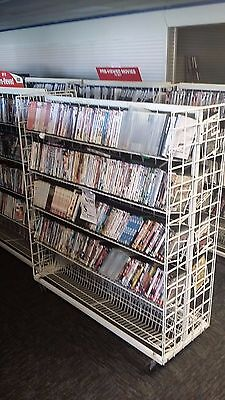 210 DVD's WHOLESALE LOT ASSORTED TITLES-ASSORTED GENRES-FREE SHIPPING