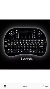 BACKLIGHT ANDROID TV PC KEYBOARD MOSE RECHARGEBLE Hallam Casey Area Preview