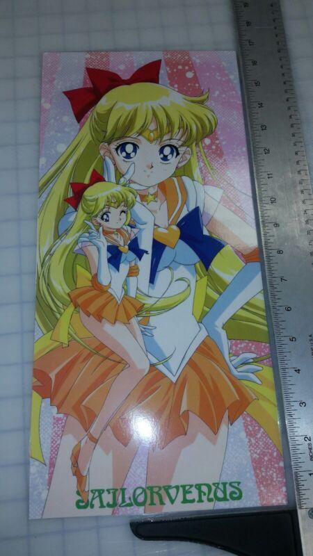 Sailor Moon Super Venus color poster 8x16.5 laminated pgsm