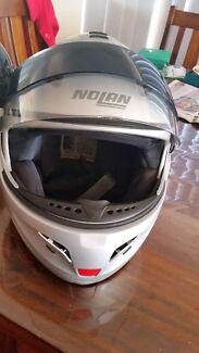 Nolan NCom ready N102 Flip Face Helmet sz L With sun visor Clarkson Wanneroo Area Preview
