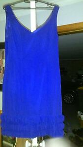 Formal dress Review brand royal blue size 12, sleeveless, to knee Kingston Kingborough Area Preview