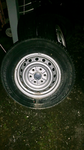 4 rims with tyres to sell! Earlville Cairns City Preview