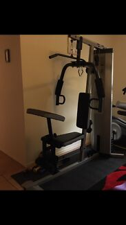 For sale home Gym with sit up beach and AB