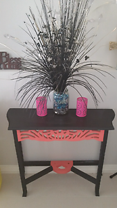 Black & Pink Hall table Balga Stirling Area Preview