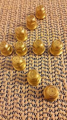 10 Tipsspraying Systemsteejet Tx-1 Brass Conejet Hollow Cone Spray Tip