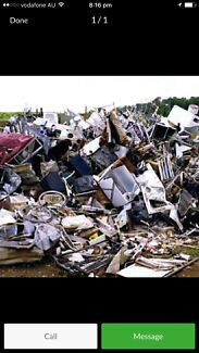Wanted: Free pick up of any scrap metal